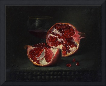 The broken pomegranate