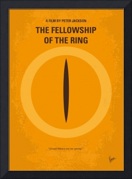 No039-1 My LOTR 1 minimal movie poster