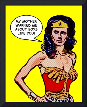 Advice from Wonder Woman's Mother