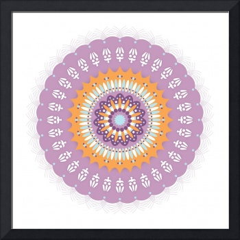 Mandala 1 colour 3