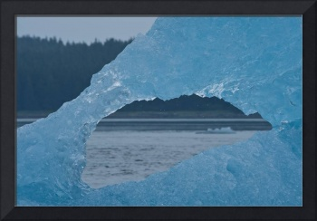 Icberg Window, Tracy Arm, Alaska