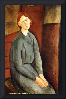 Amedeo Modigliani~Portrait of Annie Bjarne