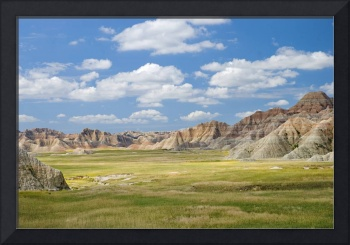 Colorful Landscape In Badlands National Park Sout