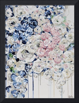 Everything is Coming Up Roses - Floral Painting