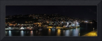 Charlotte Amalie Night View Pano-9