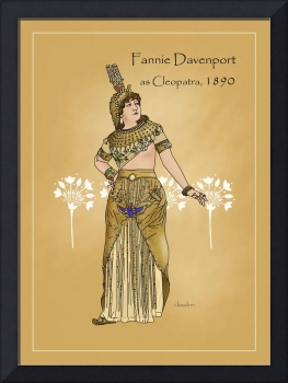 Fannie Davenport as Cleopatra (1890)
