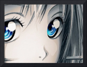 Anime Girl Eyes 2 Gold