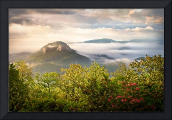 Looking Glass Sunrise - Blue Ridge Landscape