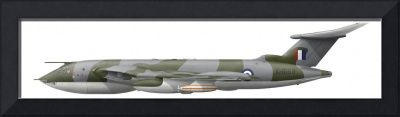 Illustration of a Handley Page Victor K2 aircraft