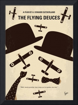 No983 My The Flying Deuces minimal movie poster