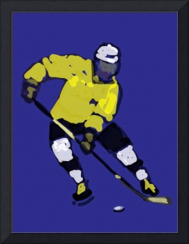 Hockey Left Wing blue yellow black (c)