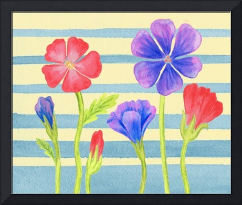 Flower Painting For Baby Room
