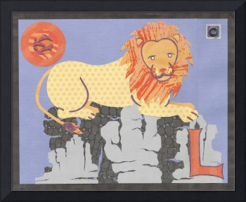 Safari Alphabet Lion
