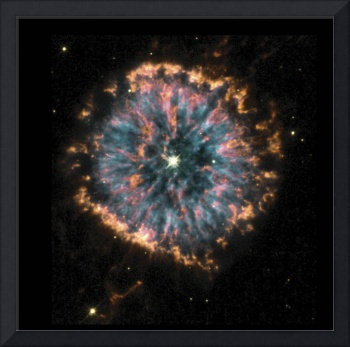 Glowing Eye Nebula in Constellation Aquila
