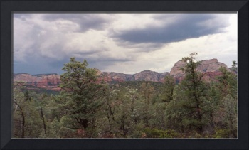 Clouds over Sedona, Arizona