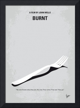 No963 My Burnt minimal movie poster