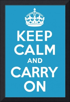 keep calm and carry on_23x35_print