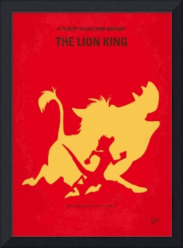 No512 My The Lion King minimal movie poster