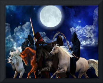 Four Horsemen of the Apocalypse Painting