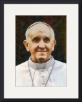 Pope Francis I by Charmaine Zoe