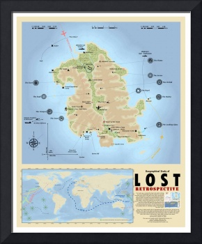 Geography of LOST: Retrospective