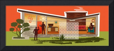 Mid Century Modern House - Butterfly Roof