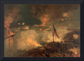 Civil War Battle of Port Hudson by J.O. Davidson (
