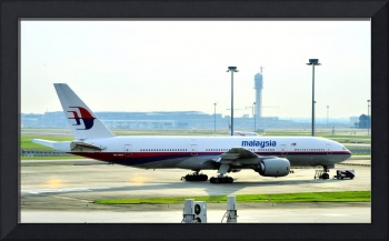 Today's Crashed Malaysia B-772, 9M-MRO, 1 Year Ago