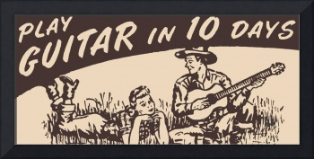 Play Guitar in 10 Days, 1950 ad