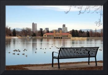 On The Bench - City Park in Denver