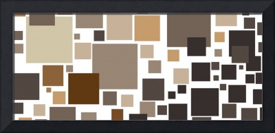 Toffee Tiles: Abstract Art