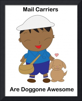 Black Mail Carrier Doggone Awesome