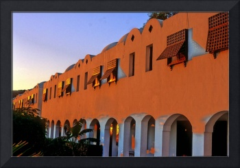 The Fabulous Tiran Hotel at Sunrise