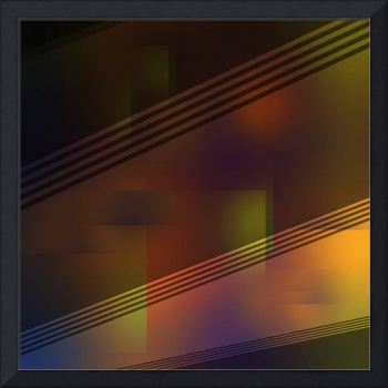 Fun with Colors Night Curtains Abstract