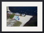 Wychmere Harbor Beach and Tennis Club Aerial #2 by Christopher Seufert