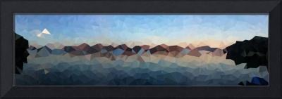 Cubist Tomales Bay Print