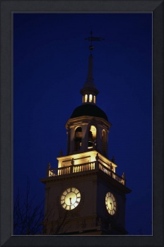 Independence Hall Tower Philadelphia PA