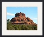 Morning Sun on Bell Rock by Jacque Alameddine