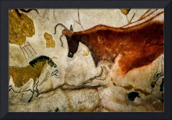 Lascaux II Cave Painting Replica