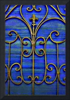 Iron and Wood, Blue
