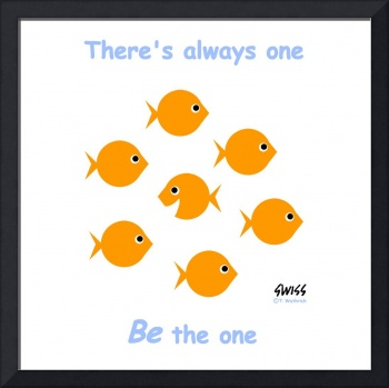 1 Always One Goldfish for Zazzle Poster
