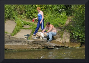 Bathing the Dog in a Public River: How British