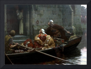 Edmund Blair Leighton In Time of Peril