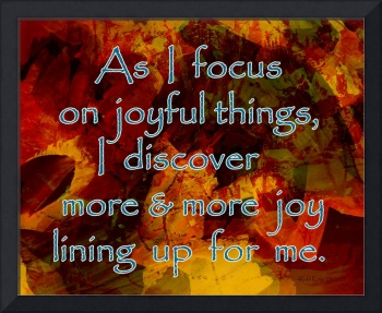 Affirmation: Joyful Things 3
