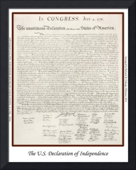 The U.S. Declaration of Independence