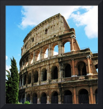 Colosseum in Rome, Italy - color photo