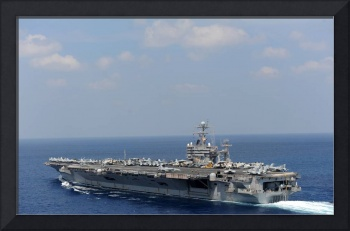 USS Abraham Lincoln transits the Indian Ocean 3