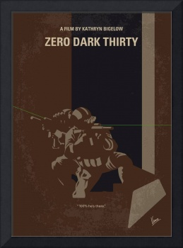 No692 My Zero Dark Thirty minimal movie poster
