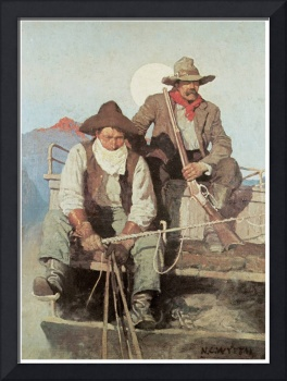 N. C. Wyeth's The Pay Stage