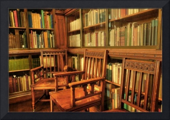 A place to sit in John Rylands Library